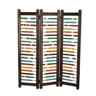 Screen Gems Abacus 3 Panel Room Divider