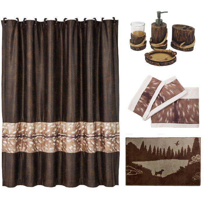 21 Piece Shower Curtain Set