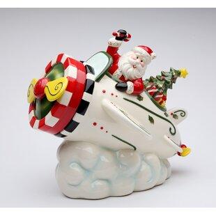 Santa Storage Jar
