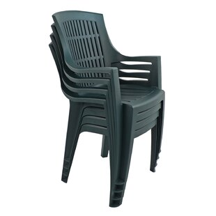 Hamish Stacking Garden Chair (Set Of 4) By Sol 72 Outdoor