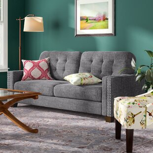 Shop Janousek Tufted Sofa by Charlton Home