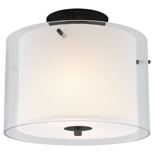 DVI Essex 2-Light Semi Flush Mount