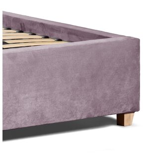 Review Celeste Upholstered Ottoman Bed