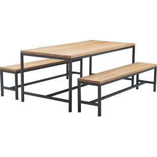 Robson 3 Piece Dining Table Set