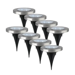 ! Light Pathway Lighting Set (Set Of 8) By Symple Stuff