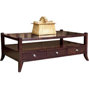 Manhattan Rectangular Coffee Table with Storage