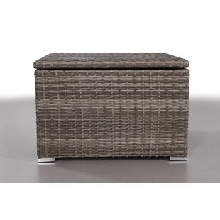 Rosecliff Heights Crispin Wicker Sectional Corner Table