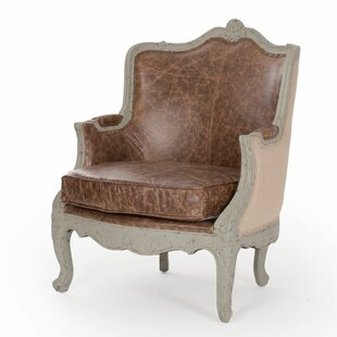 Fredrik Wingback Chair by One Allium Way