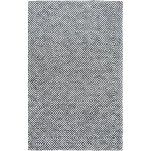 Warmley Hand Woven Gray Area Rug by Wrought Studio