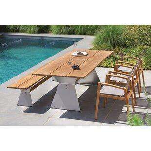 Nero 2 Seater Dining Set By Niehoff Garden