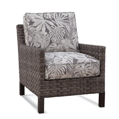Luciano Patio Chair with Cushions Braxton Culler Cushion Color: 6282-61