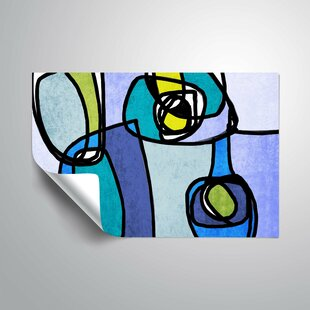 Review Vibrant Colorful Abstract Wall Mural by ArtWall
