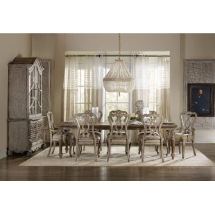 Chatelet 9 Piece Extendable Dining Set Hooker Furniture