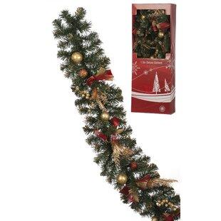 Christmas Garlands Wreaths Reefs You Ll Love Wayfair Co Uk
