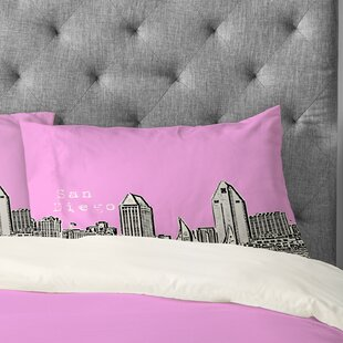 Bird Ave San Diego Pillowcase