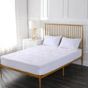 Alwyn Home Gossett Cloud Stitch Cotton Mattress Pad