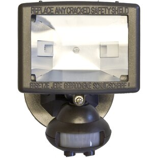 Motion Activated Lights Flood Light with Motion Sensr by Morris Products