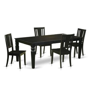 Aprea 5 Piece Dining Set DarHome Co