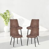 Orourke Cotton Upholstered Side Chair (Set of 4) by Corrigan Studio®