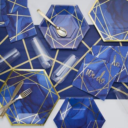 Foil Party Basic Paper Party Supplies Kit