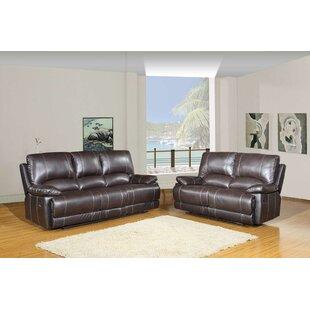 Red Barrel Studio Trower Upholstered 2 Piece Living Room Set