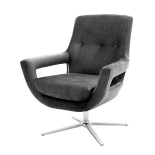 Flavio Swivel Armchair by Eich..