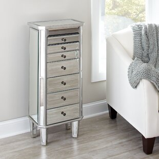 Silva Mirrored Jewelry Armoire by Birch Lane™