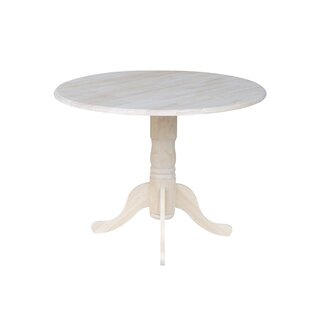 Searching for Boothby Round 42 Dual Drop Leaf Dining Table By Three Posts