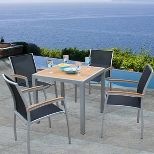 Bellini Home and Garden Galliano 5 Piece Teak Dining Set
