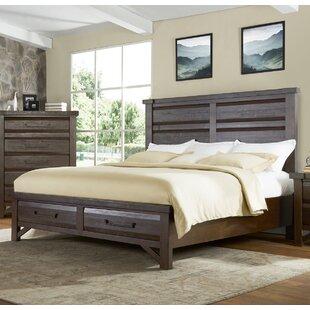 Bricelyn Solid Wood Storage Platform Bed by Union Rustic