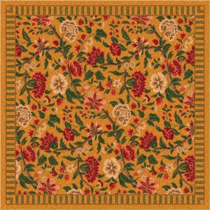 Pastiche Vachell Floral Gold Area Rug