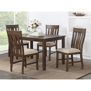 Daysi 5 Piece Breakfast Nook Dining Set by Darby..
