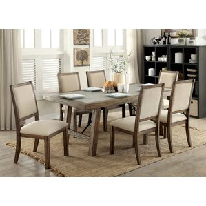 Vince Industrial Dining Table by Gracie O..