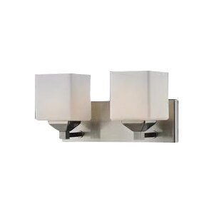 Quube 2-Light Vanity Light
