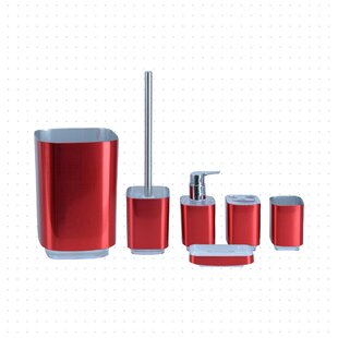 Red Bathroom Accessories You Ll Love In