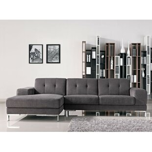 Alsatia Leather Sectional By Wade Logan