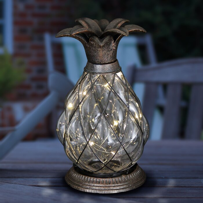best sneakers baec1 c9fff Solar Pineapple LED Firefly Decorative Lantern