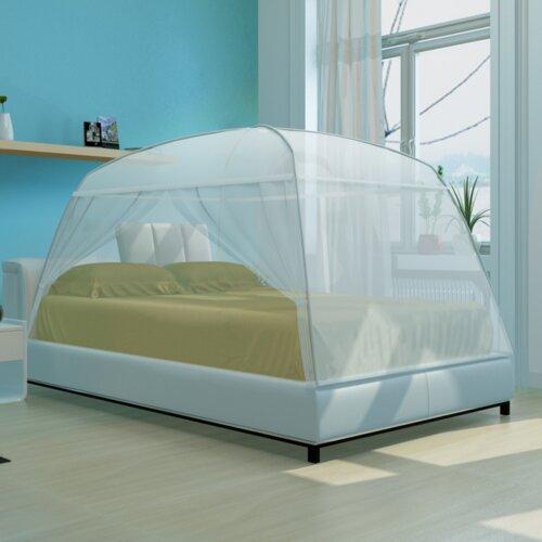 Himmelbett Mongolei ClearAmbient Größe: 120 x 130 cm | Schlafzimmer > Betten > Himmelbetten | ClearAmbient