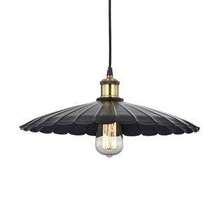 Wellyer Inc. Horkos 1-Light Inverted Pendant