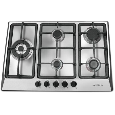 """Ancona 30"""" Gas Cooktop with 5 Burners"""