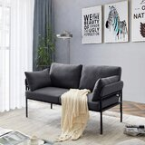 Elmirasol 59 Flared Arm Loveseat by George Oliver