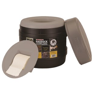 Reliance Hassock Portable Round Toilet Bowl