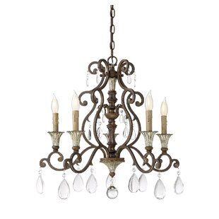Astoria Grand Fairgrove 5-Light Chandelier
