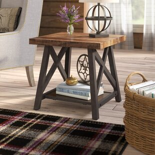 Silvis End Table by Laurel Foundry Modern Farmhouse