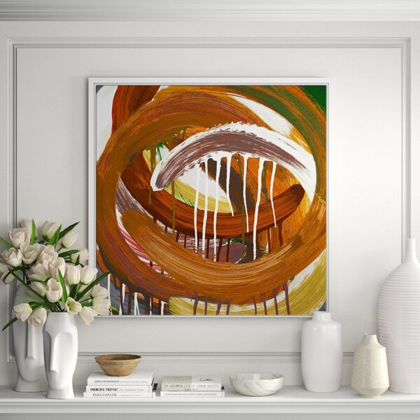 Jbass Grand Gallery Collection Melting Whirpools Iv Framed Print On Wrapped Canvas Perigold