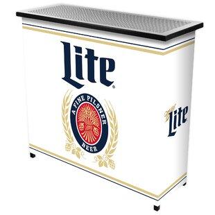 Trademark Global Miller Lite Mini Bar