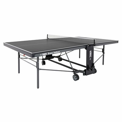 Expo Ping Pong Foldable Indoor Table Tennis Table (19mm Thick) TigerPingPong Finish/Color: Gray