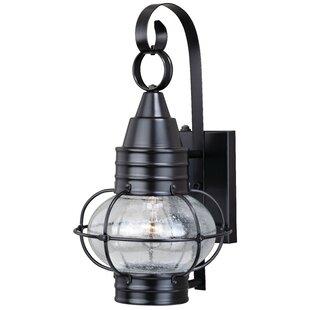 Compare & Buy Sanibel 1-Light Outdoor Wall Lantern By Breakwater Bay