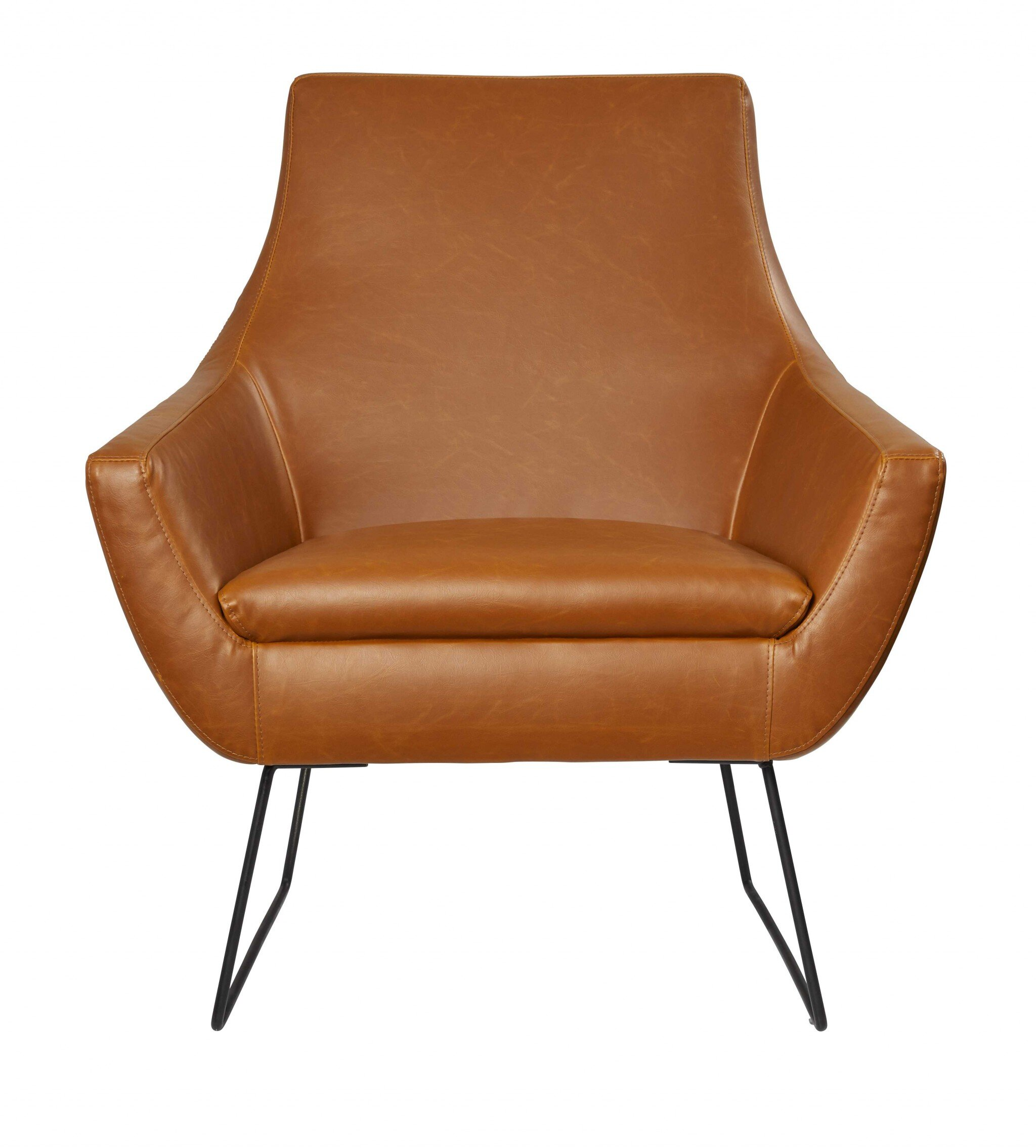 Faux Leather George Oliver Small Accent Chairs You Ll Love In 2021 Wayfair