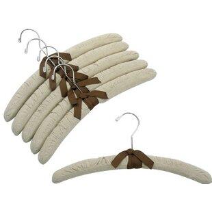 Best Reviews Linen Padded Hanger (Set of 6) ByOnly Hangers Inc.
